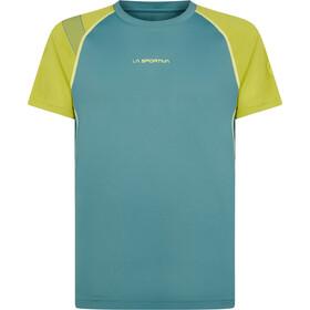 La Sportiva Motion T-Shirt Men, pine/kiwi